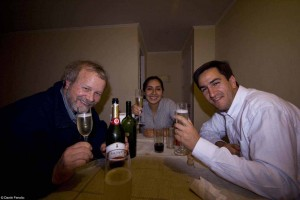 Incomparable Chilean hospitality, like her incomparable wines, make for a wonderful send-off!